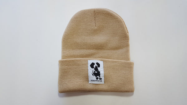 """Wiener Nation"" 12"" Solid Knit Beanie"