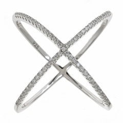 X Ring Silver