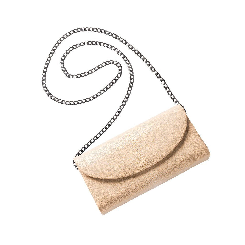 Cream Stingray Cross body