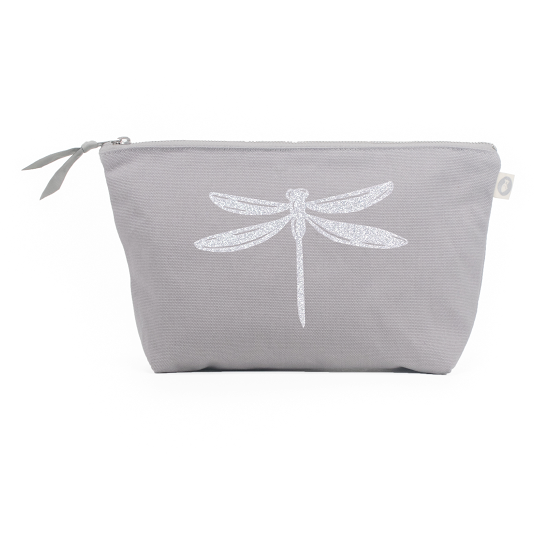 Silver Dragonfly Pouch