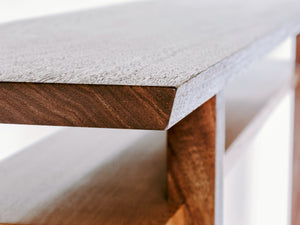 Finely shaped edges and corners on our Classic Traditions Console