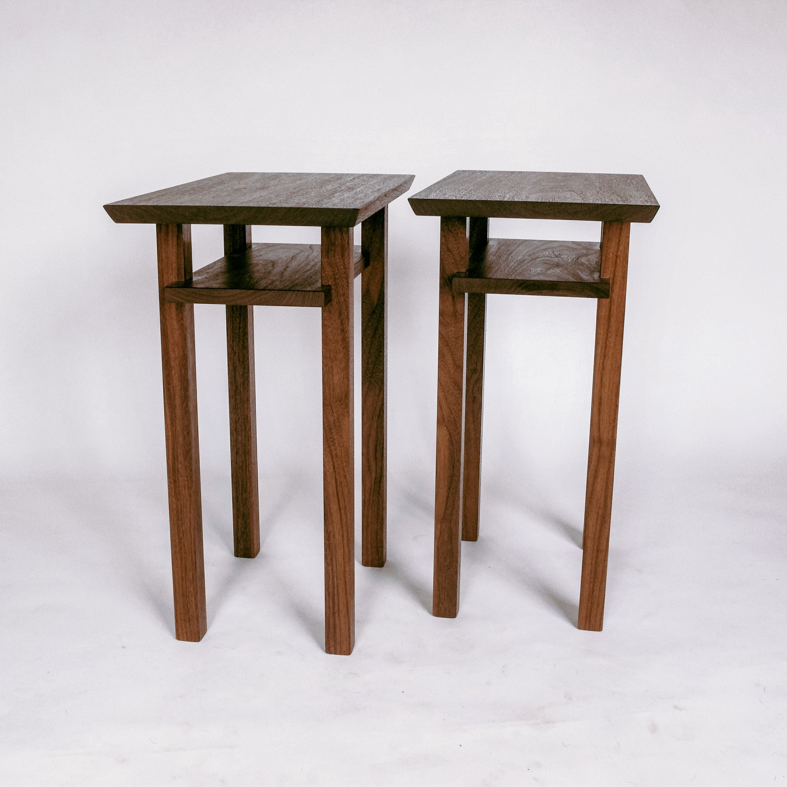small narrow tables - narrow nightstands or end tables