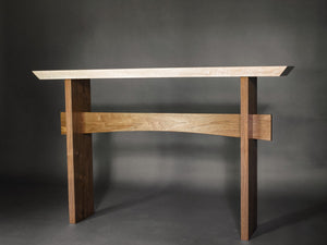 long narrow console table for the hall, entry or other accent space