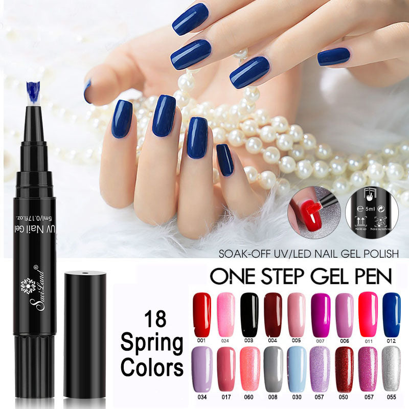 1 Step Gel Polish Pen-Free UV Lamp with purchase of 3 pens. – Nail Pulse