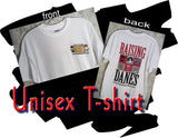 "Raising Danes ""The Color Chart"" Short Sleeve T-Shirts"
