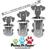 Perfect Fit Feeder (1 Perfect Fit Feeder & 1-5QT Stainless Steel Bowl)