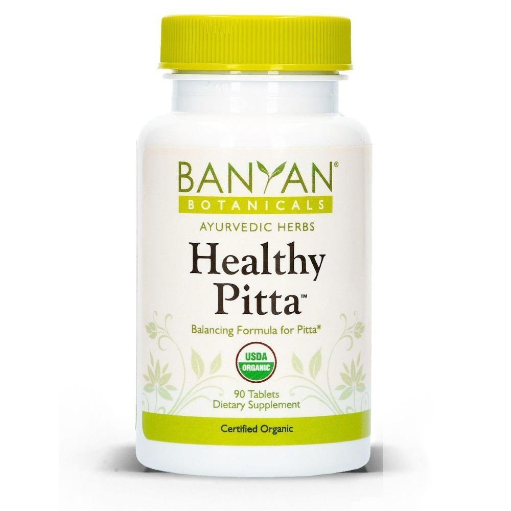 Healthy Pitta (Organic) 90 tabs - 2 Pack - Vitasell.net