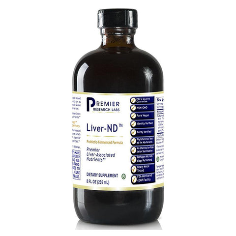 Liver-ND™ - 8 fl. oz (235 ml) - Premier Research Labs - 2 Pack - Vitasell.net