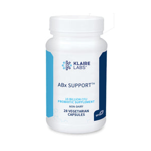 ABx Support Probiotic 28 Count - Klaire Labs - Vitasell.net