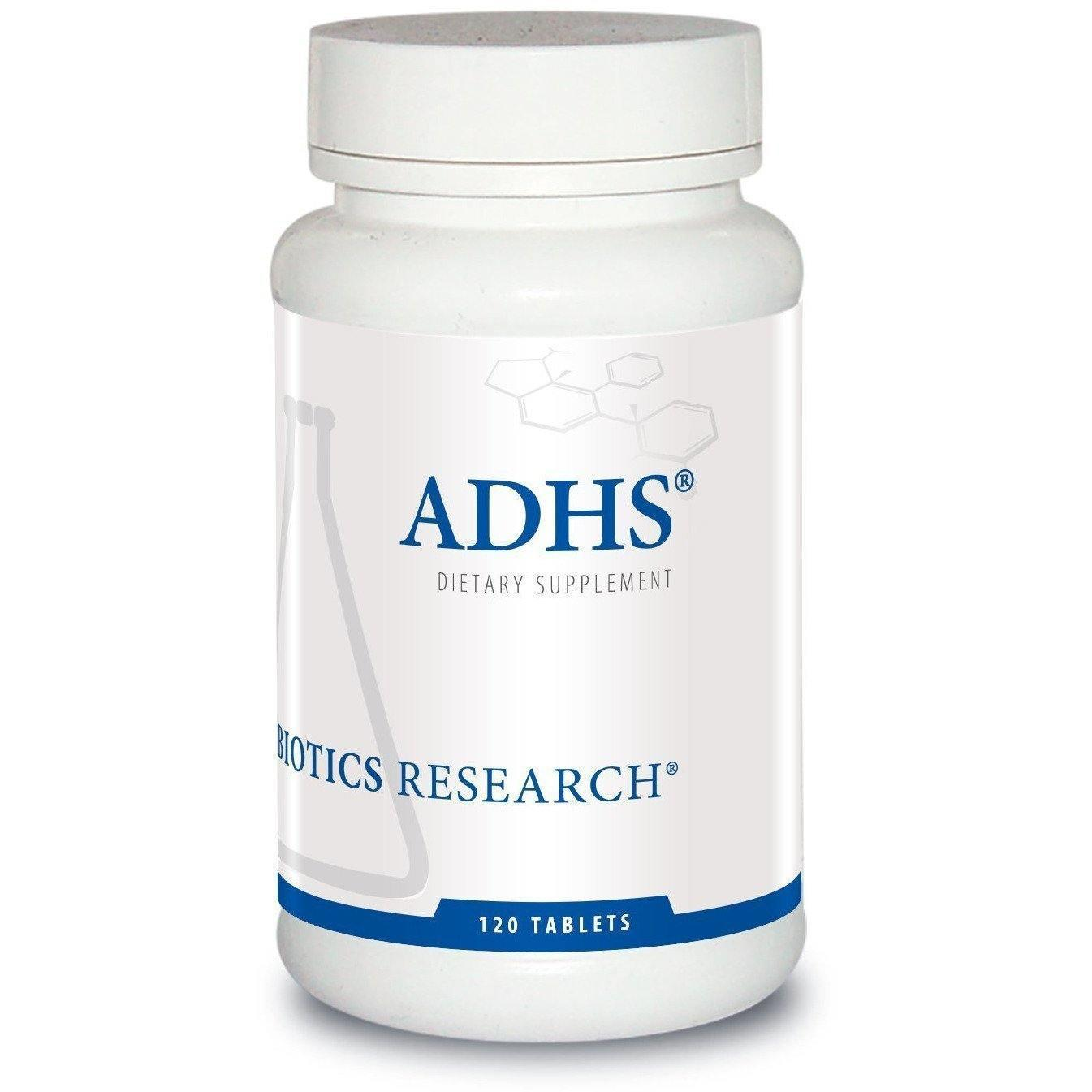 ADHS 120 Tablets by Biotics Research - Vitasell.net