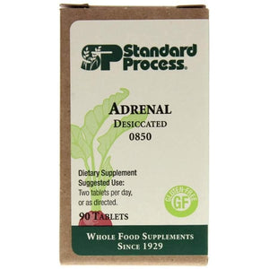 Adrenal Desiccated 90 Tablets - Vitasell.net