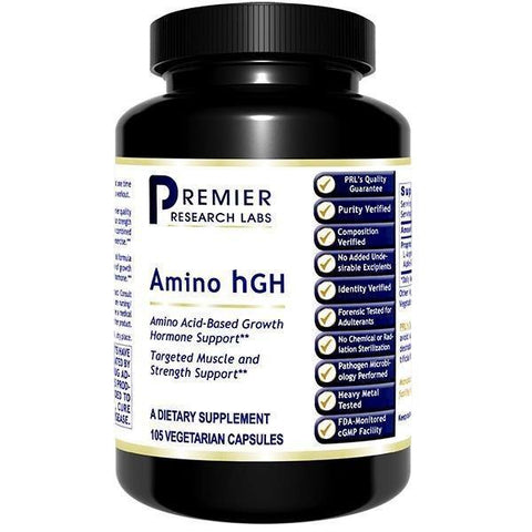 Amino hGH 105 vegetarian capsules - Premier Research Labs - 2 Pack - Vitasell.net