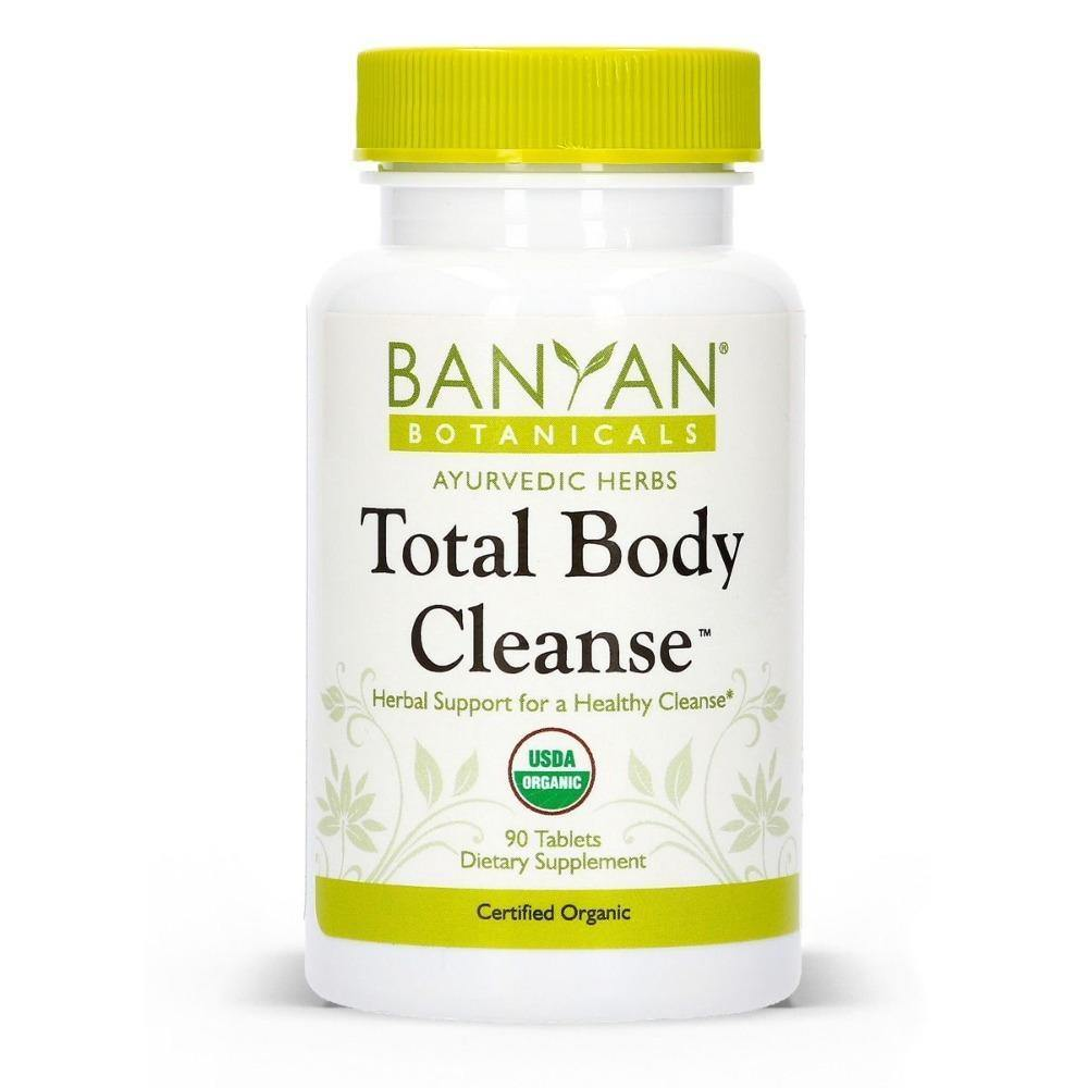 Total Body Cleanse Organic 90 tabs - 2 Pack - Vitasell.net