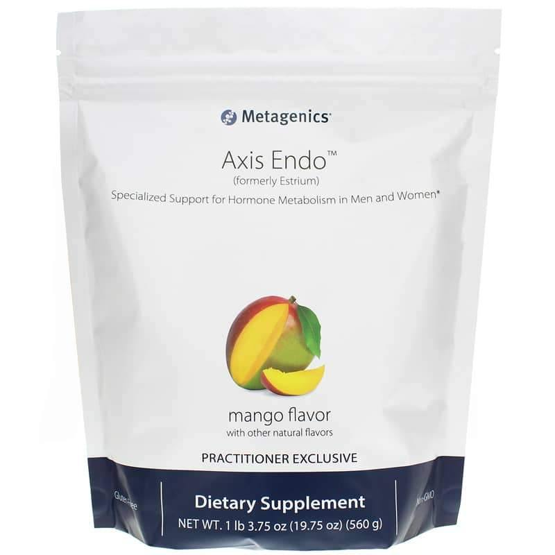 Axis Endo Mango Flavor 19.26 Oz - Support For Hormone Metabolism - Vitasell.net