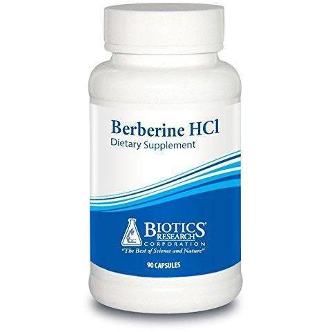 Berberine HCl 90 Count by Biotics Research - Vitasell.net