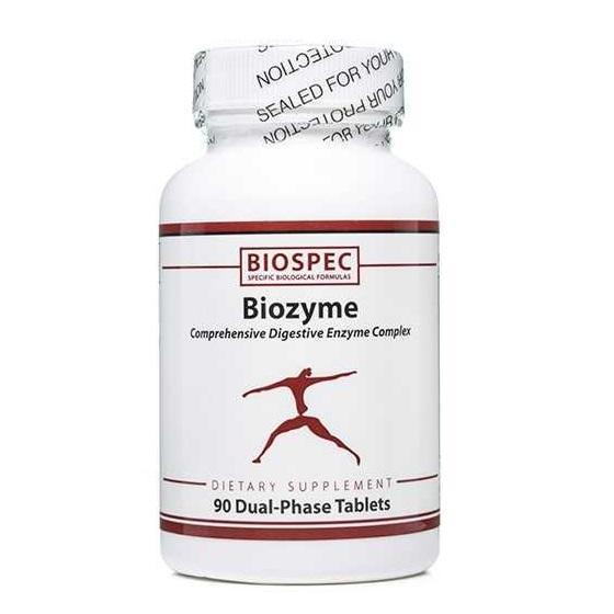 Biozyme 90 tabs | BioSpec Nutritionals - Vitasell.net