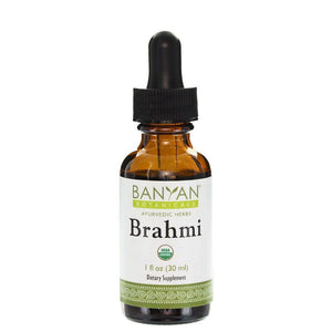 Brahmi Liquid Extract, Organic 1 oz - 3 Pack - Vitasell.net