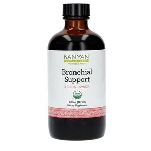 Bronchial Support Syrup, Organic 6 fl oz - 2 Pack - Vitasell.net