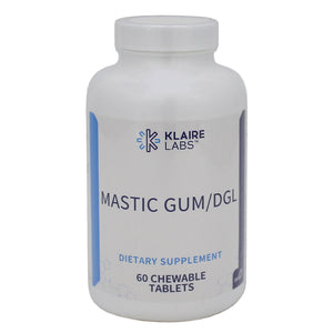 Mastic Gum/DGL 60 Chewable Tablets - Vitasell.net