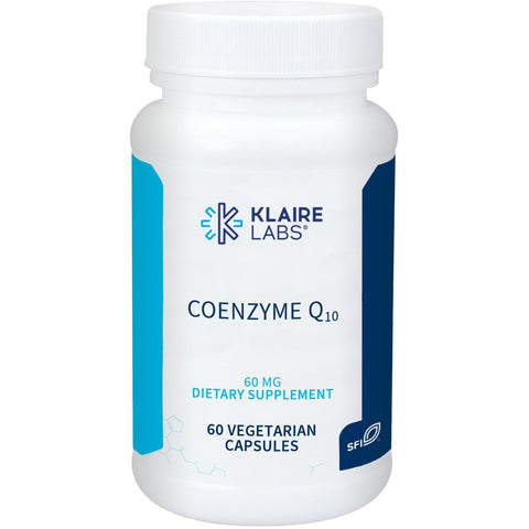 Coenzyme Q10 60 mg 60 Count -  Klaire Labs - Vitasell.net