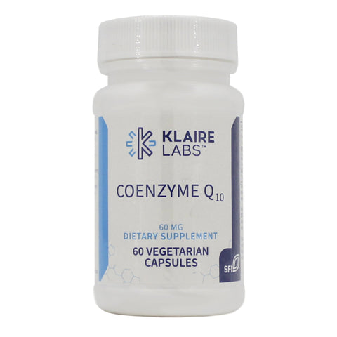 COENZYME Q10 60 mg 60 Vegetarian Capsules - Klaire Labs - Vitasell.net