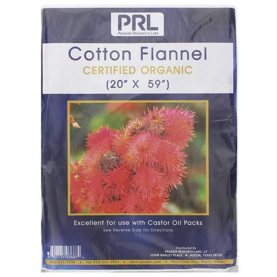 Cotton Flannel Organic - 4 Pack - Vitasell.net