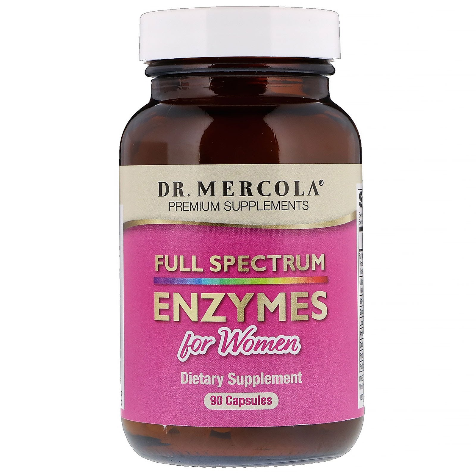 Full Spectrum Enzymes for Women - 90 Capsules by Dr. Mercola - Vitasell.net