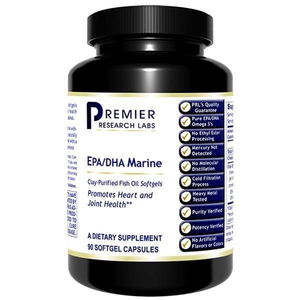 EPA/DHA Marine Softgels 90 softgels - Premier Research Labs - 2 Pack - Vitasell.net