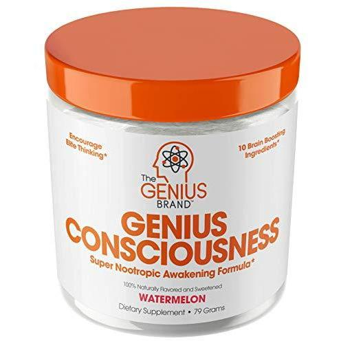 Genius Consciousness Powder - Super Nootropic Awakening Formula - Watermelon (15 Servings) - Vitasell.net