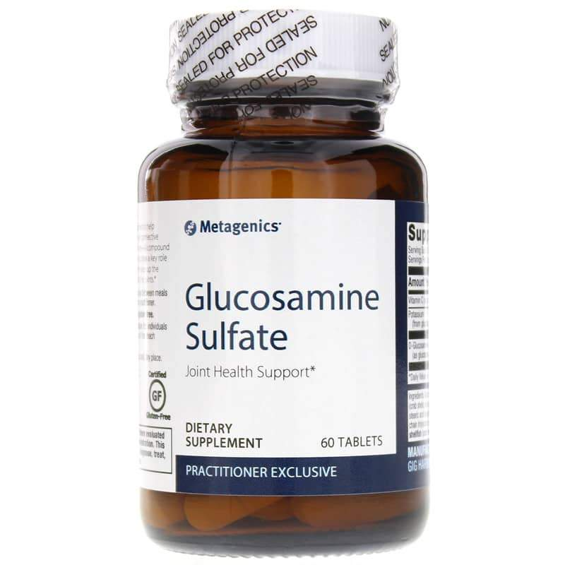 Glucosamine Sulfate Joint Health Support 60 Tablets - Vitasell.net