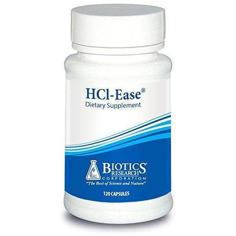 HCl-Ease 120 Capsules - Biotics ResearchDeal - Vitasell.net