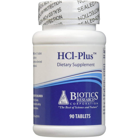HCl-Plus 90 Tablets - Biotics Research - 2 Pack - Vitasell.net