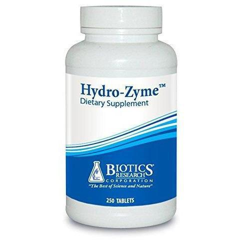 Hydro-Zyme 250 Tablets - Biotics Research - Vitasell.net