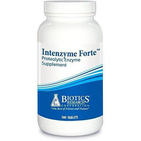 Intenzyme Forte 500 Tablets by Biotics Research - Vitasell.net