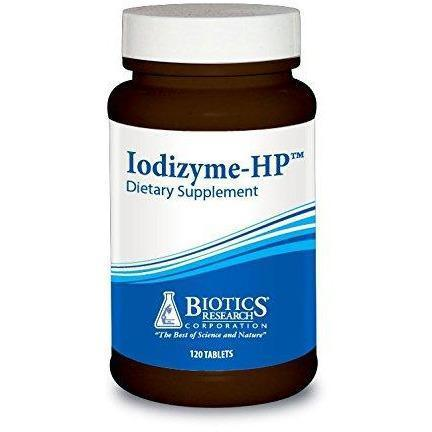 Iodizyme-HP 120 Tablets - Biotics Research - Vitasell.net
