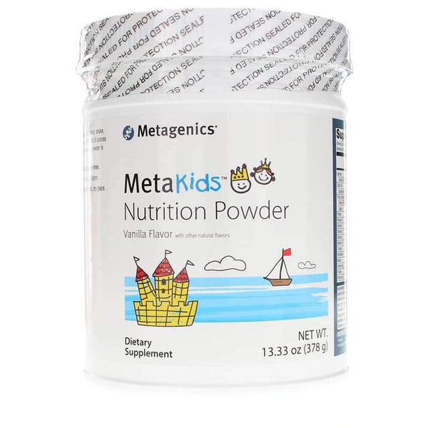 MetaKids Nutrition Powder Vanilla 14 Servings - Metagenics - Vitasell.net