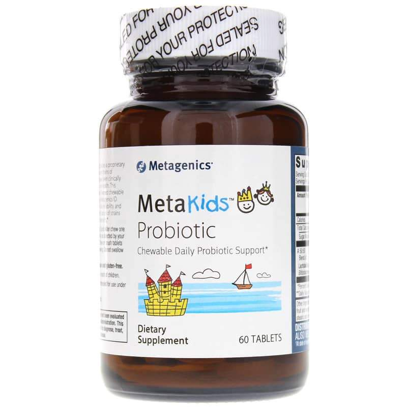 MetaKids Probiotic 60 Chewable Tablets - Vitasell.net