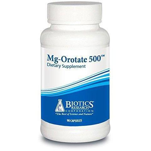 Mg-Orotate 500 - 90 Count by Biotics Research - Vitasell.net