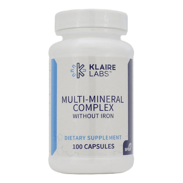 Multi-Mineral Complex w/o iron 100 Caps - Vitasell.net