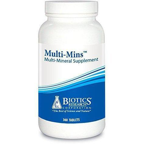 Multi-Mins 360 Tablets - Biotics Research - Vitasell.net
