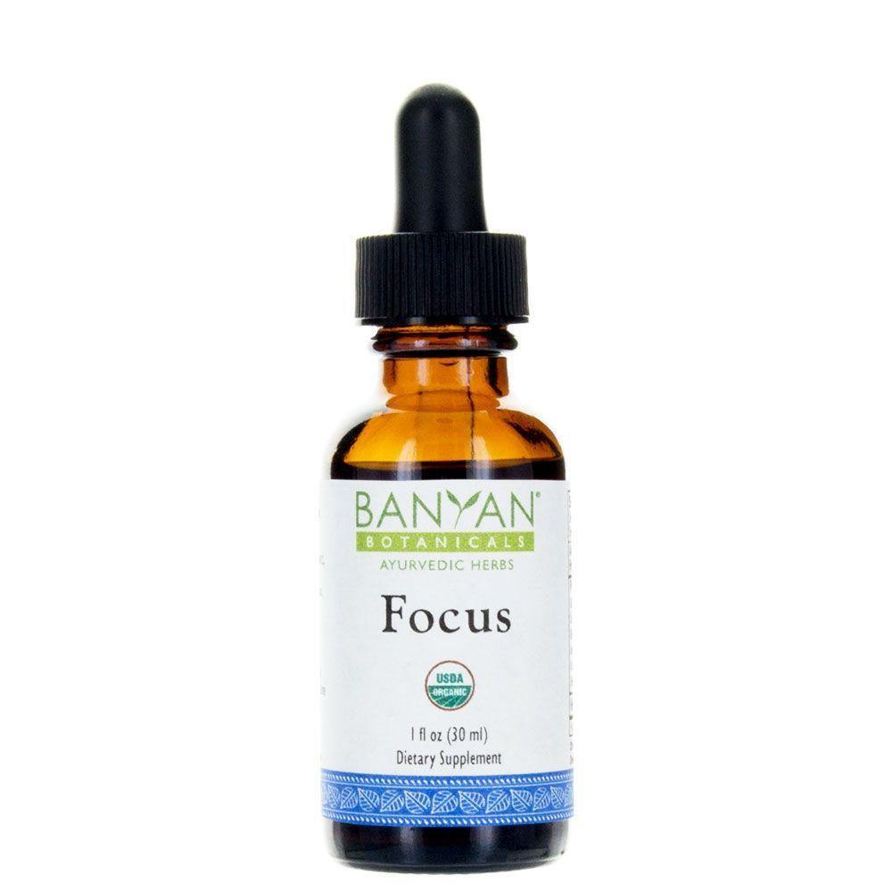 Focus Liquid Extract, Organic 1 fl oz - 3 Pack - Vitasell.net