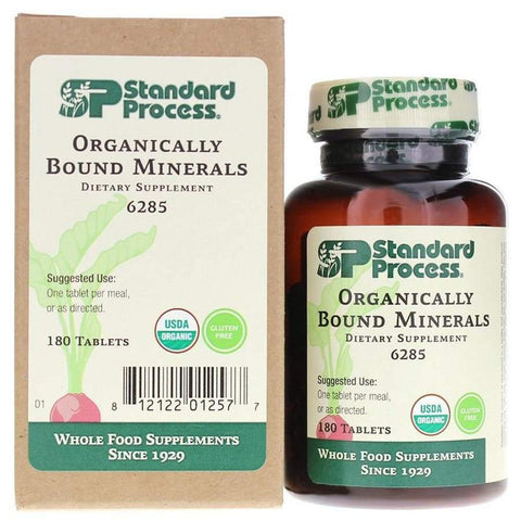 Organically Bound Minerals 180 Tablets - Vitasell.net