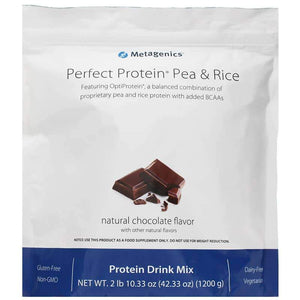 Perfect Protein Pea and Rice Chocolate - Metagenics - Vitasell.net