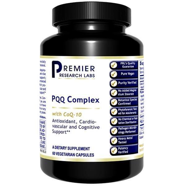 PQQ Complex with CoQ10 60 Capsules Dietary Supplement - 2 Pack - Vitasell.net
