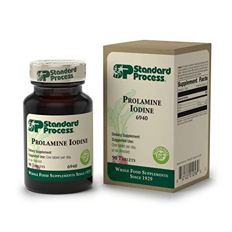Prolamine Iodine - 90 Tablets, Supports Healthy Iodine Levels - Vitasell.net