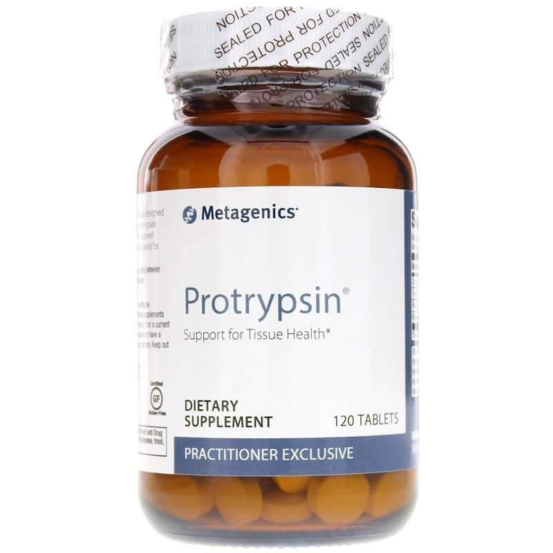Protrypsin Proteolytic Enzyme Formula 60 Tablets - Vitasell.net