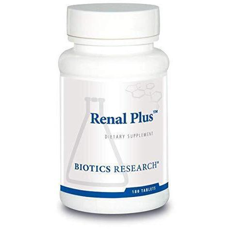 Renal Plus 180 Tablets - Biotics Research - Vitasell.net