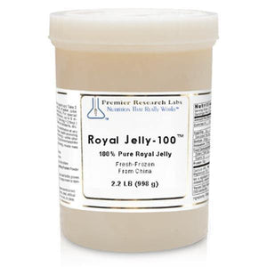 Royal Jelly-100™ 2.2 lbs - Premier Research Labs - 2 Pack - Vitasell.net