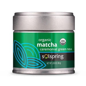 Solspring Organic Matcha Ceremonial Green Tea 1.05 oz Dr.mercola - Deal 2 pack New Label - Vitasell.net