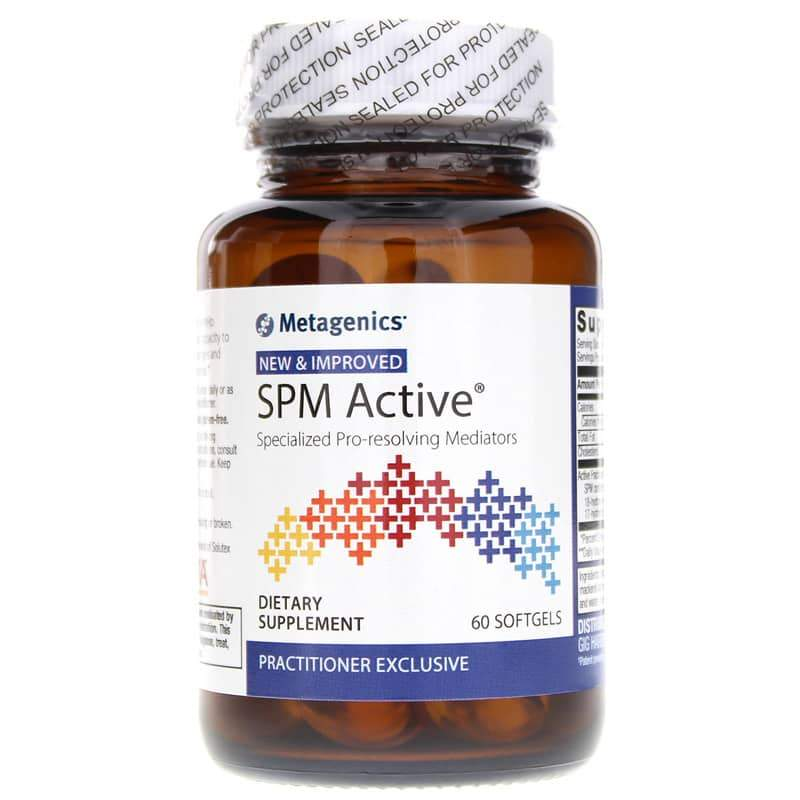 SPM Active Specialized Pro-Resolving Mediators 60 Softgels - Vitasell.net